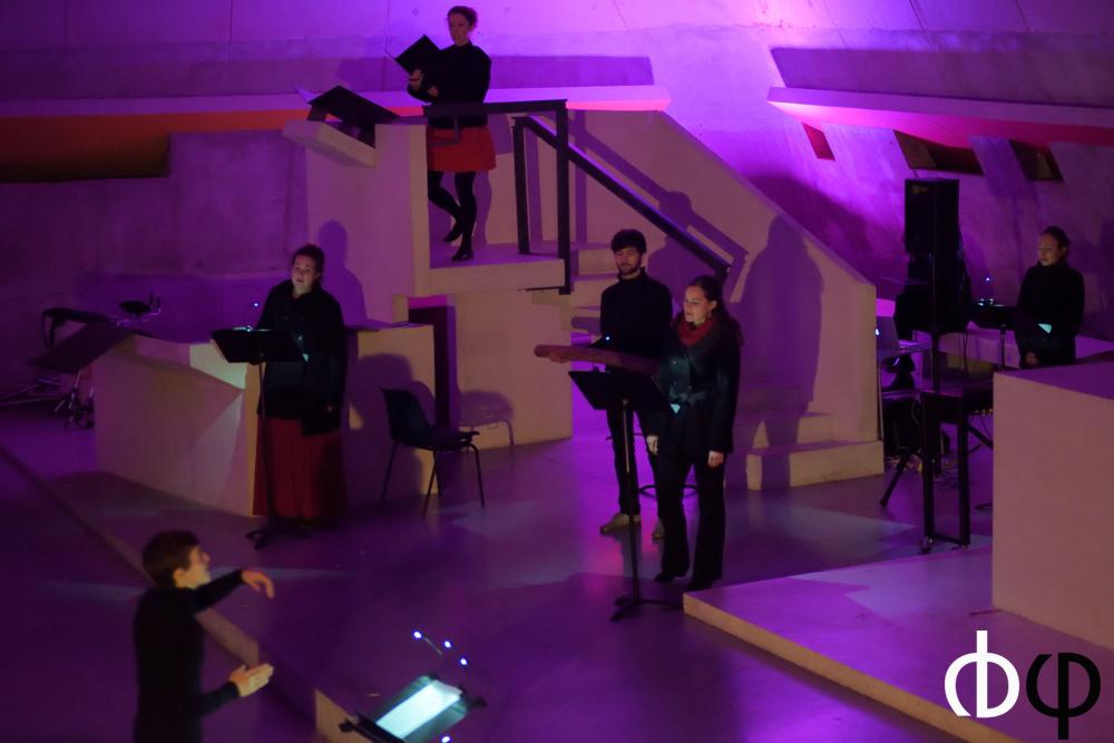 11 novembre, concert n°4: Ubi Cantus, Chœur de Saint Etienne – ex-GVU , direction Florent Maillet et Artmilles, direction Cécile Mathevet-Bouchet