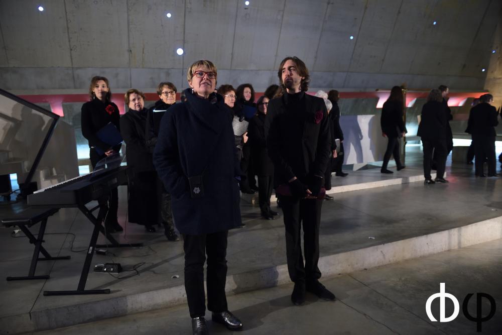 11 novembre, concert n°2: EVSE et Mini choeur, direction Alexis Gipoulou.