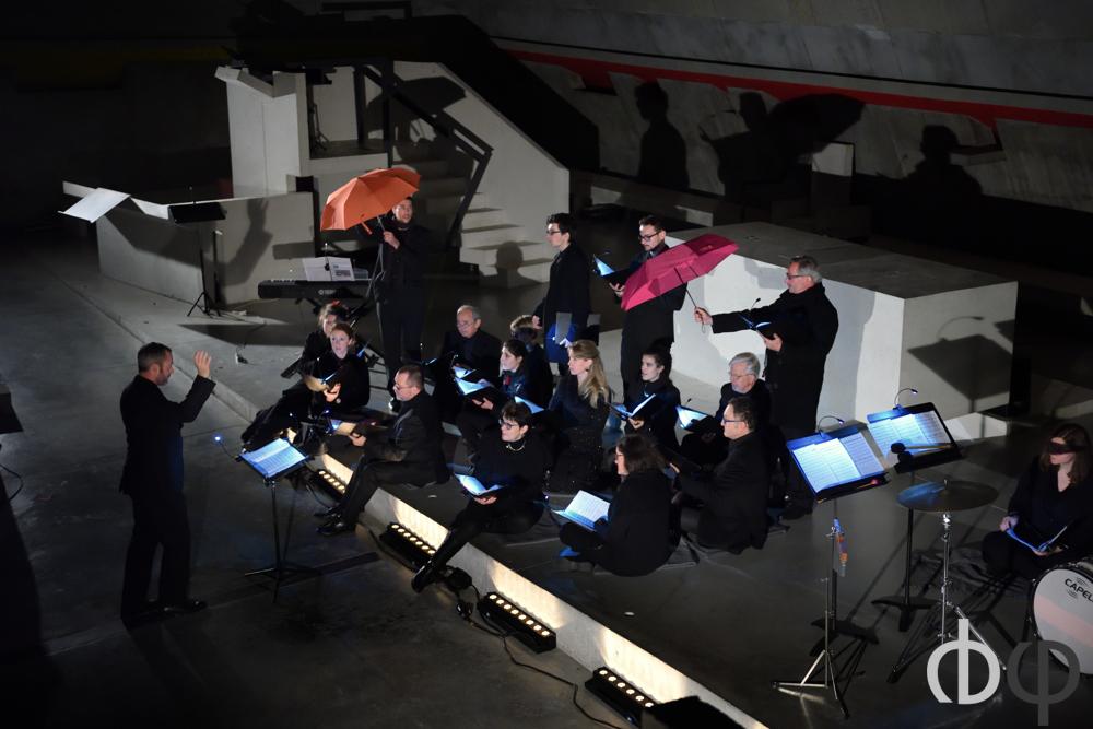 12 novembre, concert n°5: Le chœur de chambre Sinfonietta, émanation du Choeur Symphonia, dirigé par Yannick Bern