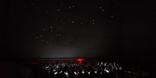 2 novembre concert d'ouverture Choeur d'Application, direction G Dumas, Artmilles, direction C Mathevet-Bouchet